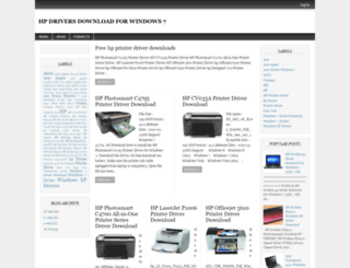 hp-drivers-download-for-windows-7.blogspot.com screenshot