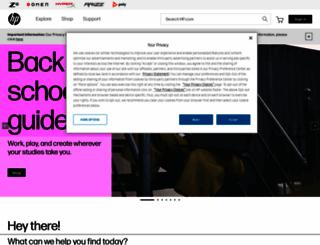 hp.com screenshot