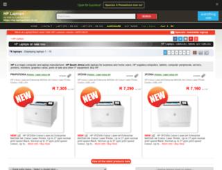 hp.laptopdirect.co.za screenshot
