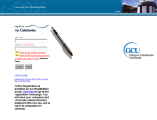 hp1.gcal.ac.uk screenshot