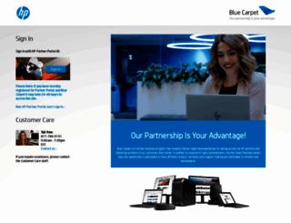 hpbluecarpet.com screenshot