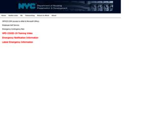 hpdnyc.org screenshot