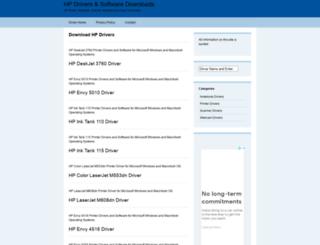 hpdriver.net screenshot