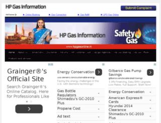 hpgasonline.in screenshot