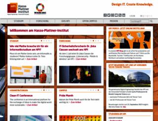 hpi-web.de screenshot