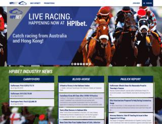 hpifund.horseplayerinteractive.com screenshot