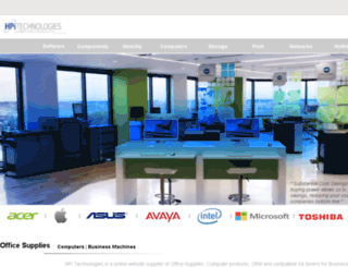 hpitechnologies.com screenshot