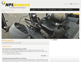 hpl-koneet.fi screenshot