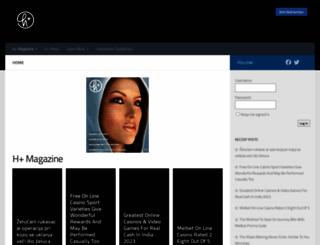 hplusmagazine.com screenshot