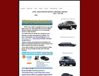 hpnairportgroundtransportation.com screenshot