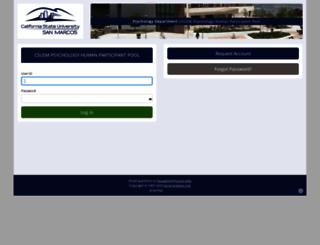 hpp.csusm.edu screenshot