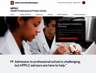 hpplc.indiana.edu screenshot