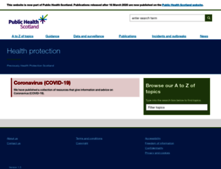 hps.scot.nhs.uk screenshot