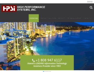 hpsi.net screenshot