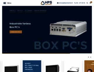 hpsindustrial.nl screenshot