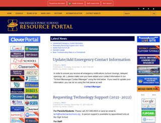 hpsnet.org screenshot