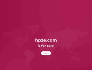 hpze.com screenshot