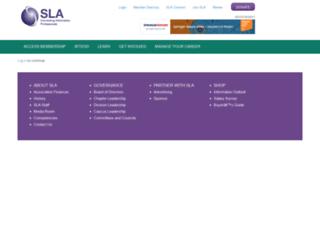 hq.sla.org screenshot