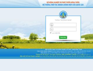 hqmc.mard.gov.vn screenshot