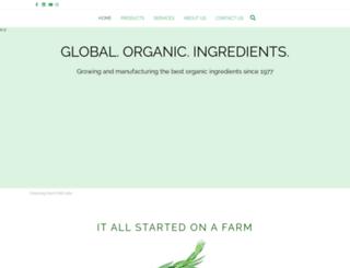 hqorganics.com screenshot