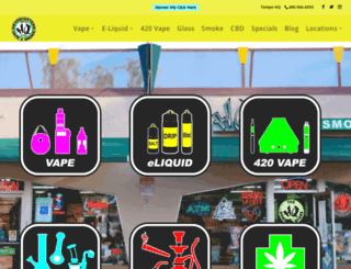 hqsmokeshop.com screenshot