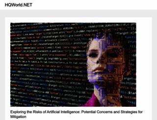 hqworld.net screenshot