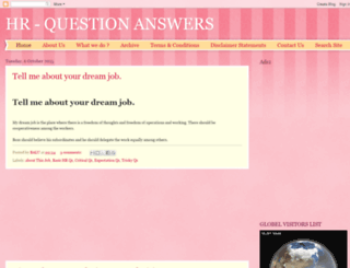 hr-questionanswers.blogspot.com screenshot