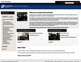 hr.graniteschools.org screenshot