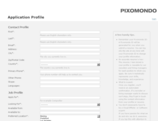 hr.pixomondo.com screenshot