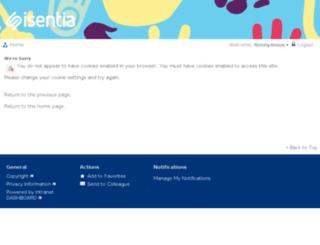 hr.sentiamedia.com screenshot