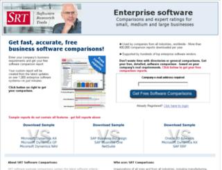 hr.softwareresearchtools.com screenshot