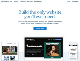 hr.wordpress.com screenshot