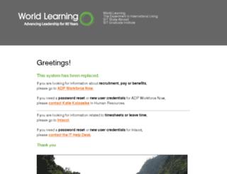hr.worldlearning.org screenshot
