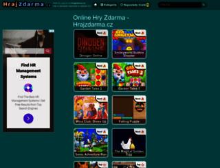 hrajzdarma.cz screenshot