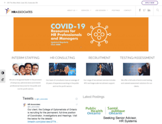 hrassociates.ca screenshot
