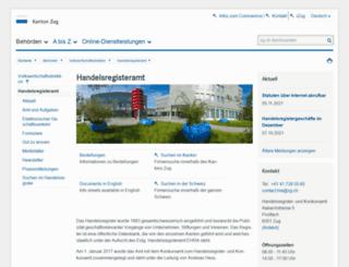 hrazg.ch screenshot