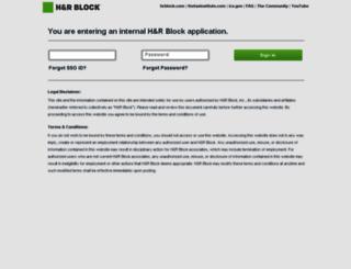hrblock.avature.net screenshot
