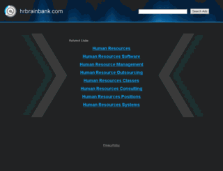 hrbrainbank.com screenshot