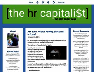hrcapitalist.com screenshot