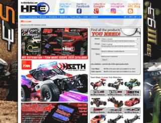 hrcdistribution.com screenshot