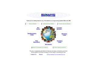 hrcr.org screenshot
