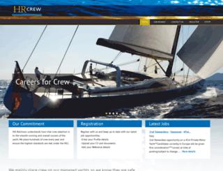 hrcrew.com screenshot