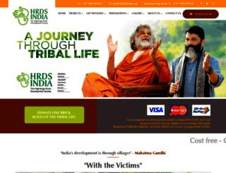 hrdsindia.org screenshot