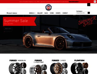 hrewheels.com screenshot