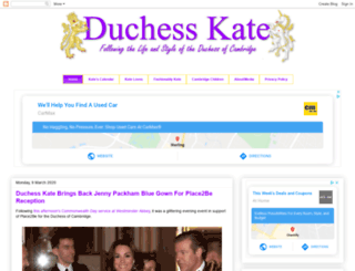 hrhduchesskate.blogspot.fr screenshot