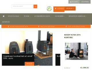 hrhoutkachels.nl screenshot