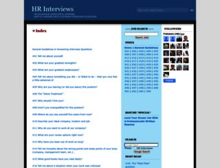 hrinterviews.blogspot.in screenshot