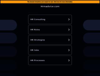 hrmadvice.com screenshot