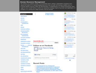 hrmba.blogspot.com screenshot