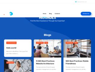 hrmindex.com screenshot